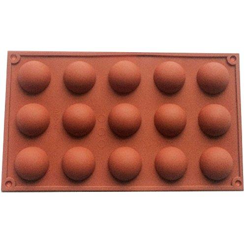 grand 6 demi-sphères moule en silicone, Plat à four en Silicone antidérapant très résistant, gateau de cuisson
