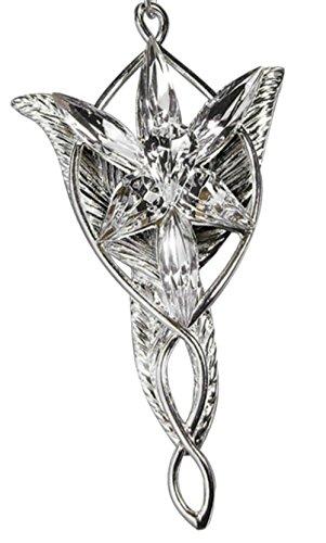 Hinky Imports Arwen 's Evenstar Halskette, inspiriert von Herr der Ringe Arwen Abendstern Halskette