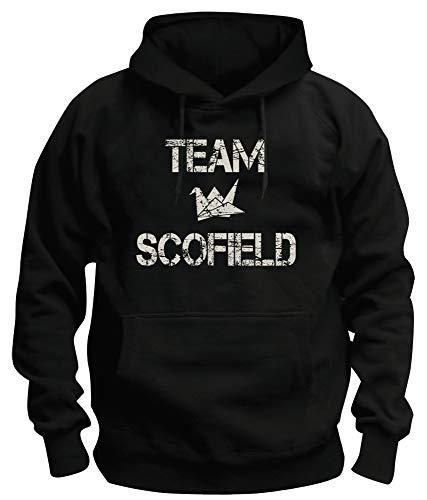 TShirt-People TSP Team Scofield Kapuzen-Sweatshirt Herren S Schwarz