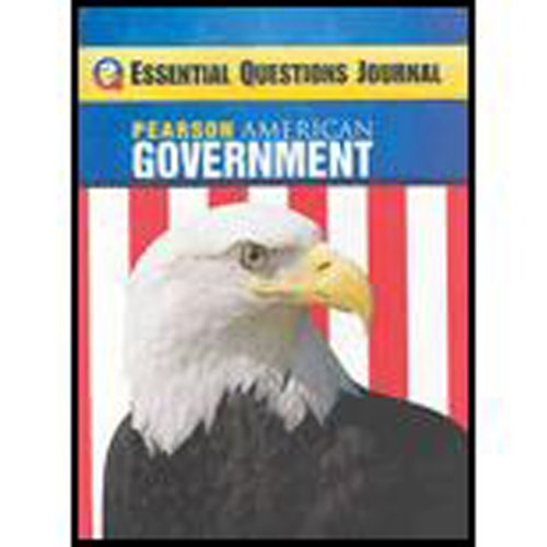 MAGRUDERS AMERICAN GOVERNMENT 2009 CONSUMABLE ESSENTIAL QUESTIONS JOURNAL