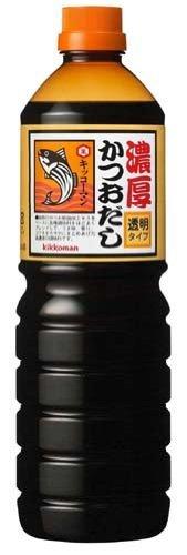 濃厚かつおだし 透明タイプ 1.2L /キッコーマン(3本)