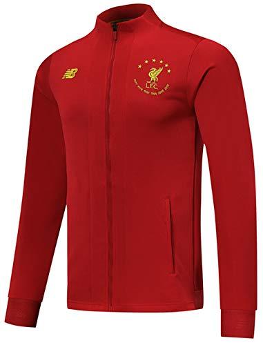 Men's 2019-2020 Liverpool FC Full Zip Jacket Red (Men's Small)