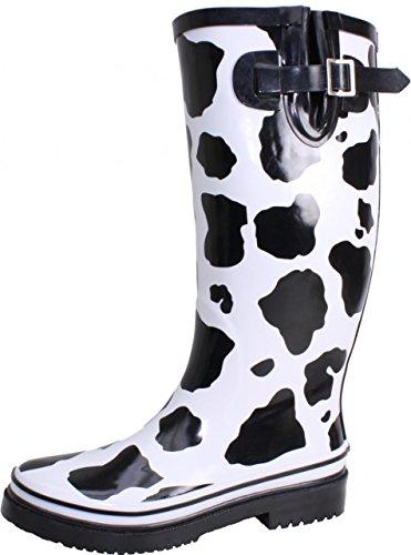 Bockstiegel Damen Gummistiefel Kuh, Größe:39