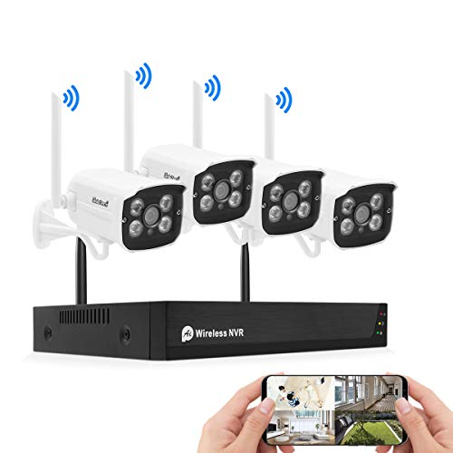 Kit camaras de vigilancia, Sistema de cámara de Seguridad d