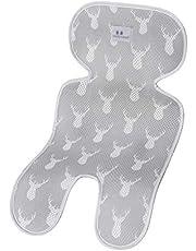 ベビーカーシート 保温保冷シート 立体構造 3Dメッシュ素材 洗濯でき クールシート 暑さ対策 ベビーチェアシート 自動車用 シート 接触冷