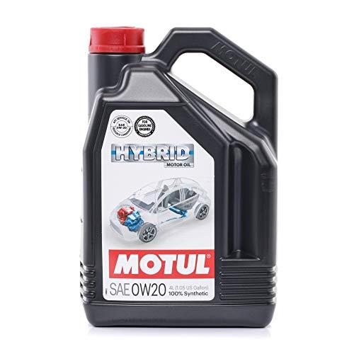 MOTUL - 107142/74 : Aceite lubricante Motores hibridos Hybrid 0w20 4l