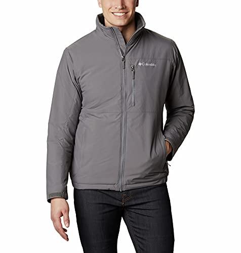 Columbia Men's Northern Utilizer Jacket, City Grey, 4X Big