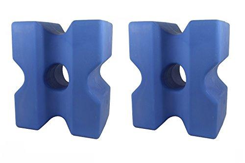 "Cavaletti-Block \""Cona\"" 2er-Set blau"