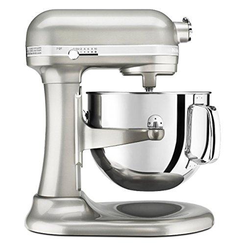 KitchenAid KSM7586PSR 7-Quart Pro Line Stand Mixer Sugar Pearl Silver