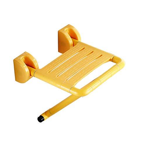 Z-SEAT Accesorio para Silla de Ducha Plegable-Asientos de baño de Lujo Plegables duraderos-con Montaje en la Pared