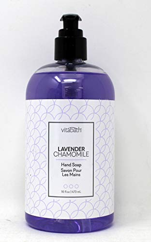 Vitabath Lavender & Chamomile Hand soap 16fl oz/473 ml