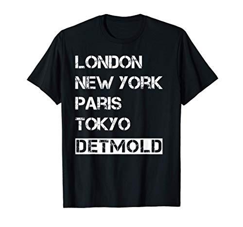 Meine Stadt! Geburtsort & Heimatliebe Detmold T-Shirt
