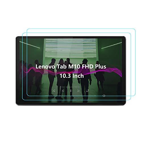 Jajacase Pellicola Protettiva per Lenovo Tab M10 FHD Plus TB-X606F / X606X (26.2 cm) 10.3 Pollici 2020 Vetro temperato - Ultra Slim HD/Resistente ai Graffi/Impermeabile/Facile installazione - [2 pz]
