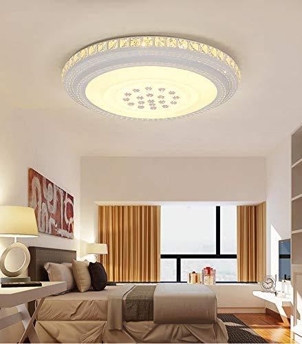 BRIFO 72W Plafonnier LED,Design De Lampe Modernen,Plafonnier Pour Salon,Hall,Cuisine,Bureau,Lumière à économie d'énergie (72W Lumière Chaude)
