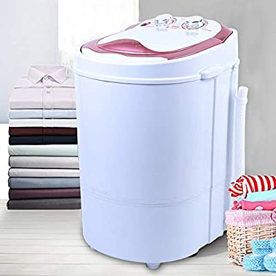 Mini Washing Machine - 2 in 1Washing Machine,Portable Single Tub Camping Washer Spin Dryer Machine For Camping Dorms Apartments College Rooms 6KG Washer and Dryer