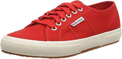 Superga 2750-cotu Classic, Unisex Adults' Low-Top Trainers, Red, 3.5 UK (36 EU)