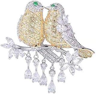 Plaqué or Collier Broche Costume Chemise Broche épingle UNISEXE FASHION JEWELRY 1 paire