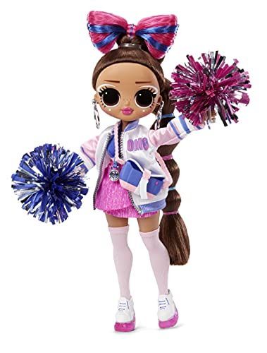 LOL Surprise OMG Sports Cheer Diva Competitive Cheerleading Fashion...