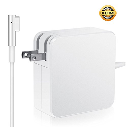 Mac Book Pro Charger Replacement 85W L-Tip Power Adapter Magnetic Compatible for MacBook Pro 15-Inch and 17-inch Laptop