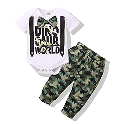 Amazon Promo Code Baby Boy Clothes Dinosaur Onesies Infant Romper Bodysuit 09072021014505