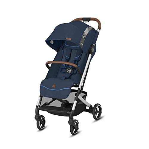 GB Gold Qbit + All-City - Silla de paseo, 84 x 42 x 106 cm, Night Blue