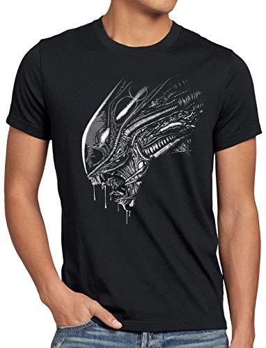 style3 Fear in Space Herren T-Shirt Xenomorph Alien Ripley, Größe:XL