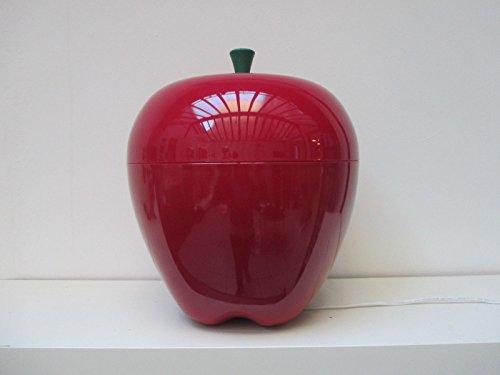 Lámpara manzana roja gigante