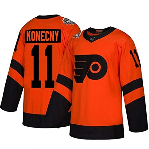 GAORX Hombres Jersey 11/79/9/28/17 Jerseys De Hockey sobre Hielo NHL Sudaderas Camiseta Manga Larga Transpirable De Coser Letras y Numeros