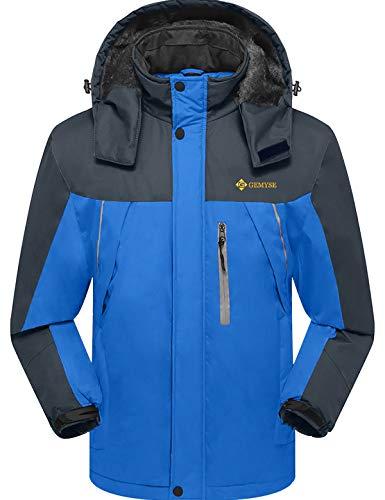 GEMYSE Men's Mountain Waterproof Ski Snow Jacket...