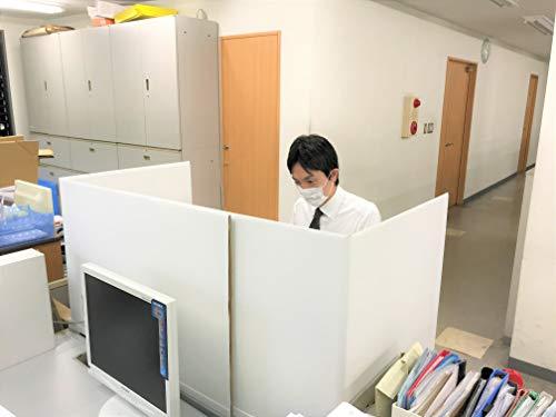 タチバナ産業『デスク用パーテーションShikiri-Dana』