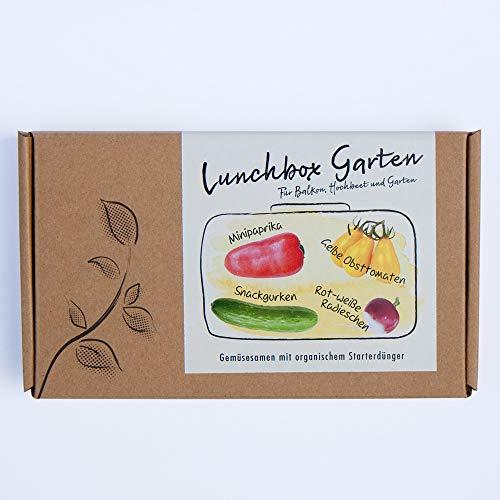 LUNCHBOX GARTEN Gemüsesamen Geschenkbox