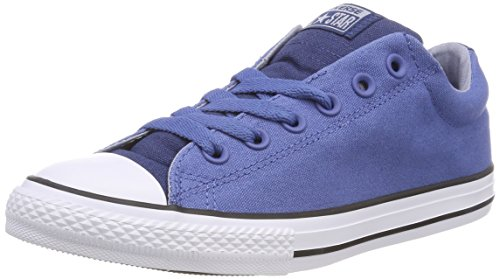 Converse Unisex-Kinder CTAS Street Slip Navy Slip On Sneaker, Blau (Nightfall Blue/Glacier Grey/White), 36 EU
