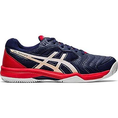 Asics Gel-Dedicate 6 Clay, Walking Shoe Unisex-Adult, Peacoat/White, 32/32.5 EU