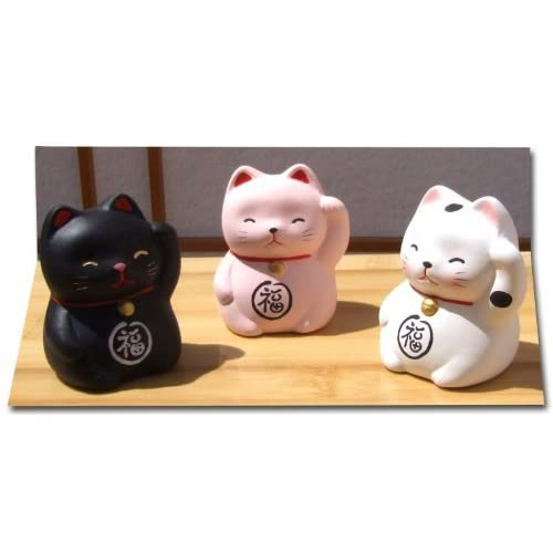 TOU Japanese golden lucky cat /& happiness card