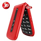 3G Big Button Mobile Phones Unlocked,Dual Sim Free Flip