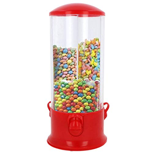 Smartweb Retro 3 Fach Süssigkeiten Automat Bonbon Kaugummi Spender Süßigkeitenspender Cornflakes