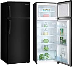 Premium PRF737HB 7.4 cu. ft. Refrigerator with Top Freezer, (Black)