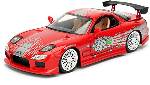 Jada Toys - 98338R - Mazda RX-7 Fast and Furious de 1995 -