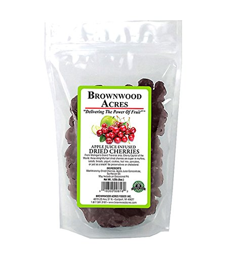 Dried Tart Cherries Sweetened with Apple Juice Concentrate  1/2 Pound Bag