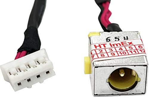HT-ImEx Conector de alimentación hembra DC Jack para Packard Bell EasyNote P5W50, P5WS0, P7YS0, PEW91, PEW92, Q5WS1, Q5WV1