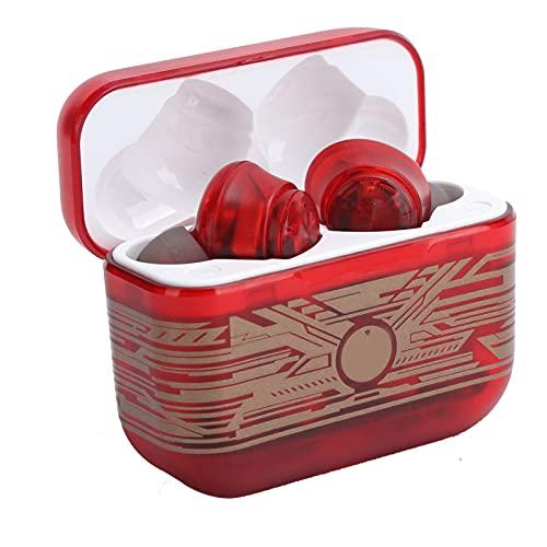 Auriculares inalámbricos, Auriculares intrauditivos Bluetooth V5.0 con estuche de carga, Auriculares estéreo de alta fidelidad con reducción de ruido con micrófono, Control táctil, para trabajo / viaj