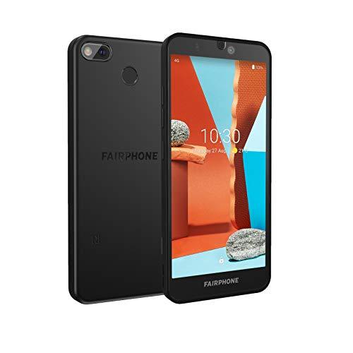 Fairphone 3+ Dual-SIM 4GB/64GB Black Android 10.0 Smartphone, FP3+, Schwarz