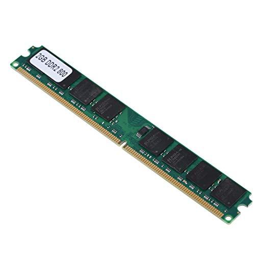 Ram de Memoria DDR2, 2G 800MHz PC2-6400 Ram de Memoria para PC con Placa de módulo de 240 Pines Compatible con Intel/AMD.