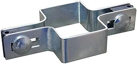 Mittelschelle Feuerverzinkt 60x40 Pfosten Schelle Gittermatte Doppelstab Zaun