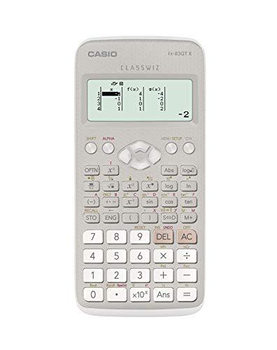 Casio FX-83GTX Wissenschaftlicher Taschenrechner, grau/weiß
