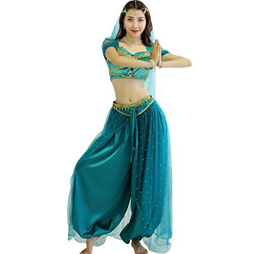 Belly Dance Jasmine Costume - Aladdin Halloween...