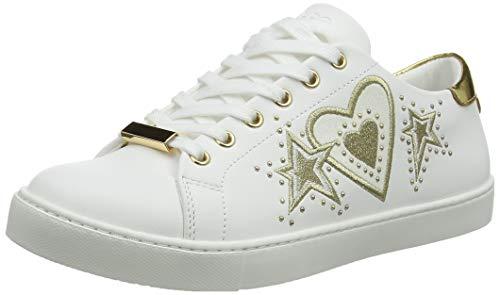 ALDO Damen Swink Sneaker, Gold 82, 37 EU