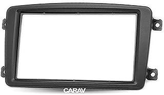 Carav 11-459 Double Din car dash installation kit Radio Stereo Facia Fascia Panel Frame DVD Player Dash Install Panel for MERCEDES-BENZ C-klasse W203 CLK-klasse W209 G-klasse W463 Viano W639 Vito W639