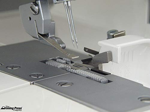 Jaguar Advanced 099 Overlocker Serger: 2, 3 or 4 Thread, with Built-in Rolled Hem & Differential Feed