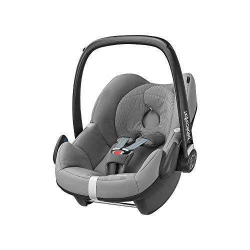 Bébé Confort Pebble, Siège-Auto Groupe 0+ (jusqu'à 13 kg), Cosi, De la Naissance à 12 Mois, Concrete Grey